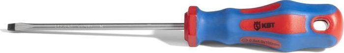 Отвертка КВТ Мастер, 77398, 5.5 х 12577398Слесарная отвертка шлиц 5,5*125 (КВТ), серия «МАСТЕР».Для слесарно-монтажных работ Анатомическая двухкомпонентная рукоятка с выемками под пальцы для удобства работы Специальная форма рукоятки с защитой от скатывания с наклонных поверхностей Маркировка профиля на торце рукояток с обозначением типа профилей Отверствие рукоятки для удобства хранения Материал стержня: хром-ванадиевая сталь Вороненый наконечник