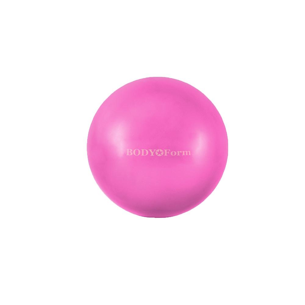 Мяч для фитнеса BodyForm Мяч гимнастический BF-GB01M (8) 20 см. мини, BF-GB01M-01, розовый мяч для фитнеса bodyform мяч гимнастический bf gb01m 10 25 см мини bf gb01m 03 фиолетовый