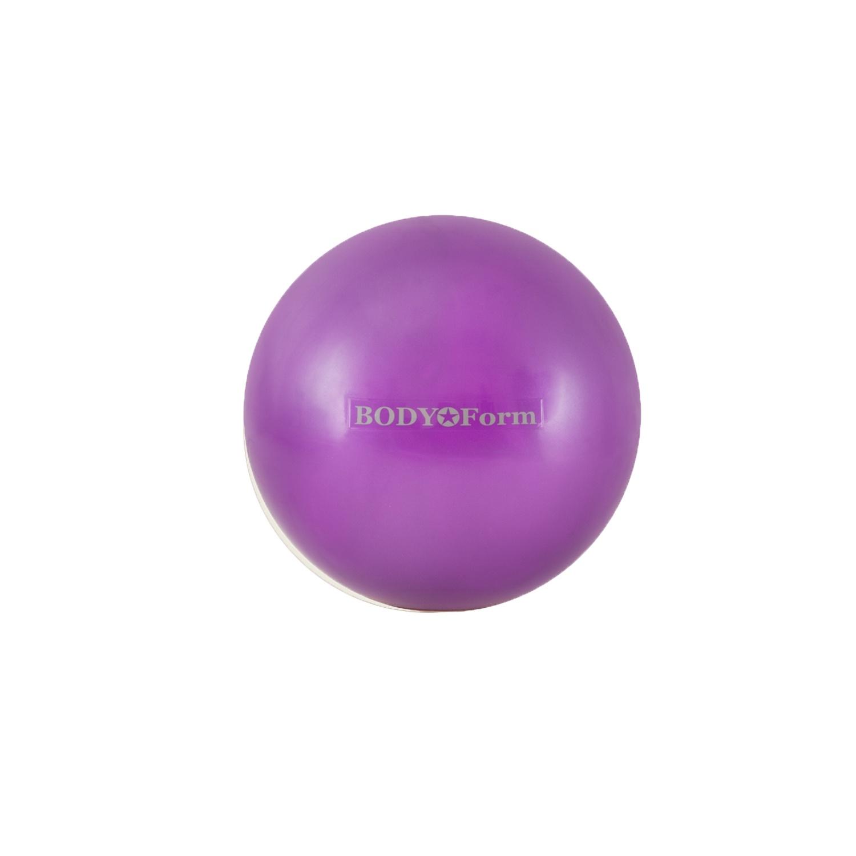Мяч для фитнеса BodyForm Мяч гимнастический BF-GB01M (10) 25 см. мини, BF-GB01M-03, фиолетовый мяч для фитнеса bodyform мяч гимнастический bf gb01m 10 25 см мини bf gb01m 03 фиолетовый