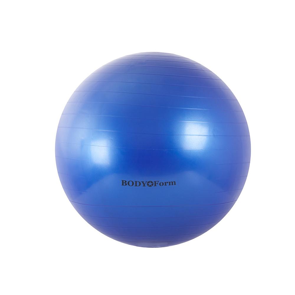 Мяч для фитнеса BodyForm гимнастический BF-GB01 (30) 75 см., BF-GB01-03, синий