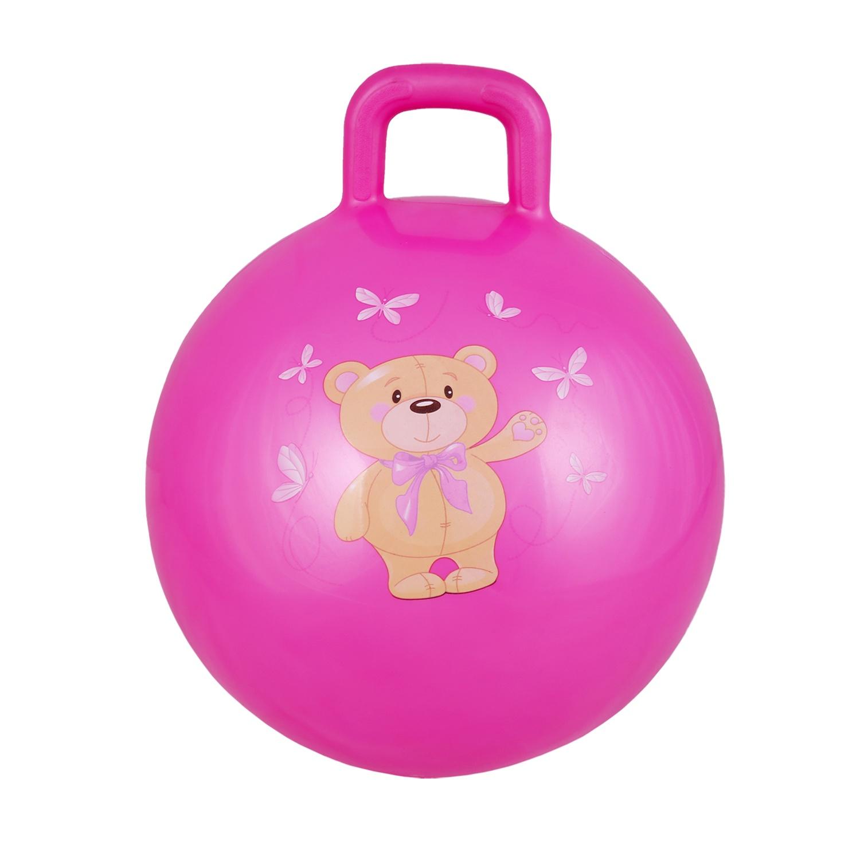 Мяч для фитнеса BodyForm Мяч гимнастический BF-CHB01 (22) 55 см., BF-CHB01-03, розовый мяч для фитнеса bodyform мяч гимнастический bf gb01m 10 25 см мини bf gb01m 03 фиолетовый