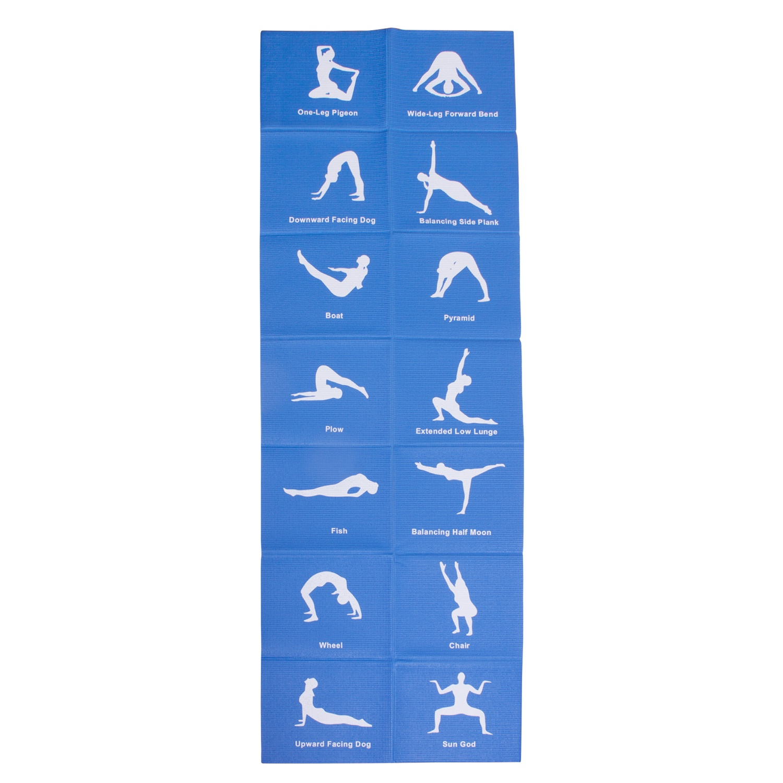 Мат BodyForm Коврик гимнастический BF-YM06 173*61*0,4 см., BF-YM06-01, синий гимнастический коврик c дугами sh 303350