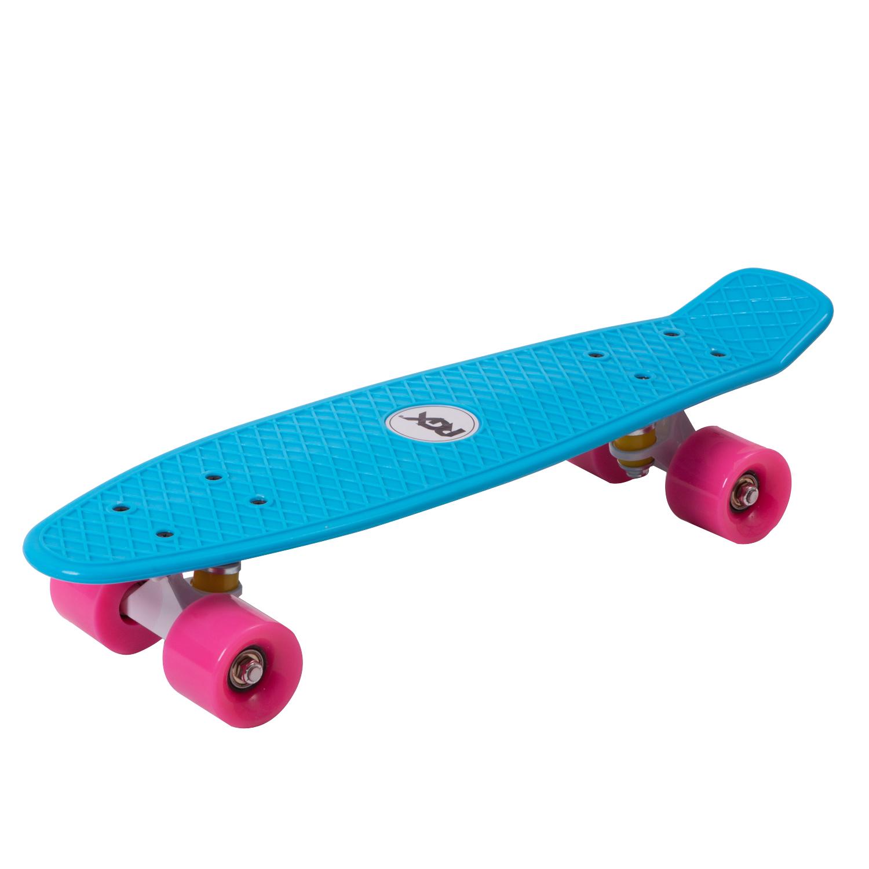 """Скейтборд RGX PNB-01 Blue (22""""), PNB-01-01, голубой"""