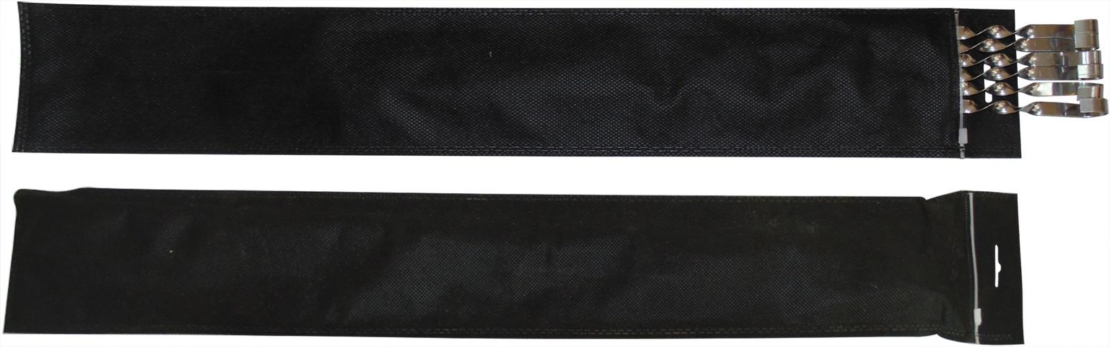 Шампуры угловые 60 см в чехле, 6 шт угловые