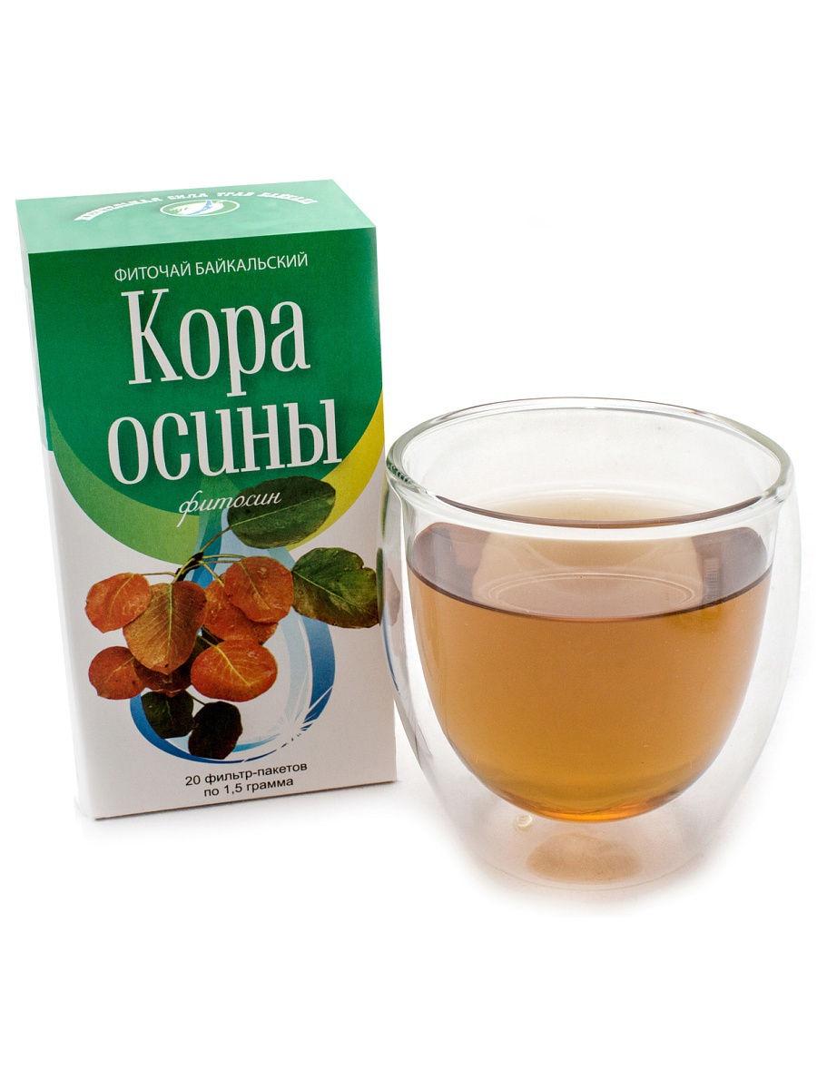 Фото - Чай Фиточаи Байкальские Кора осины, 20х1.5 г возбуждающее средство xiaozui 99%