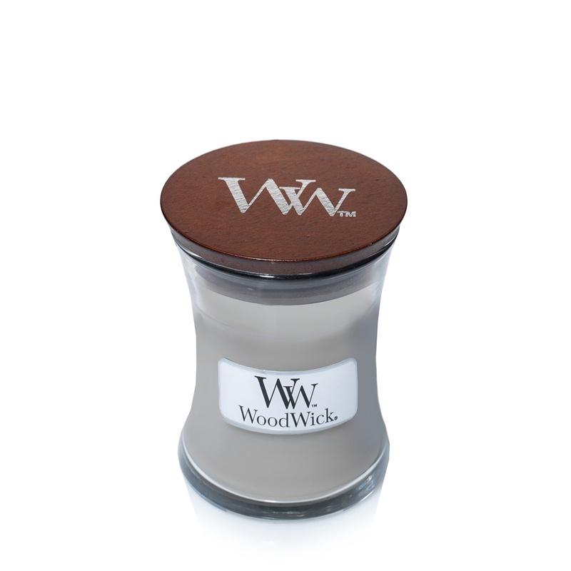Свеча ароматизированная Woodwick Ароматическая свеча Домашний очаг, маленькая, 98106 ароматическая свеча woodwick закат на пляже чаша