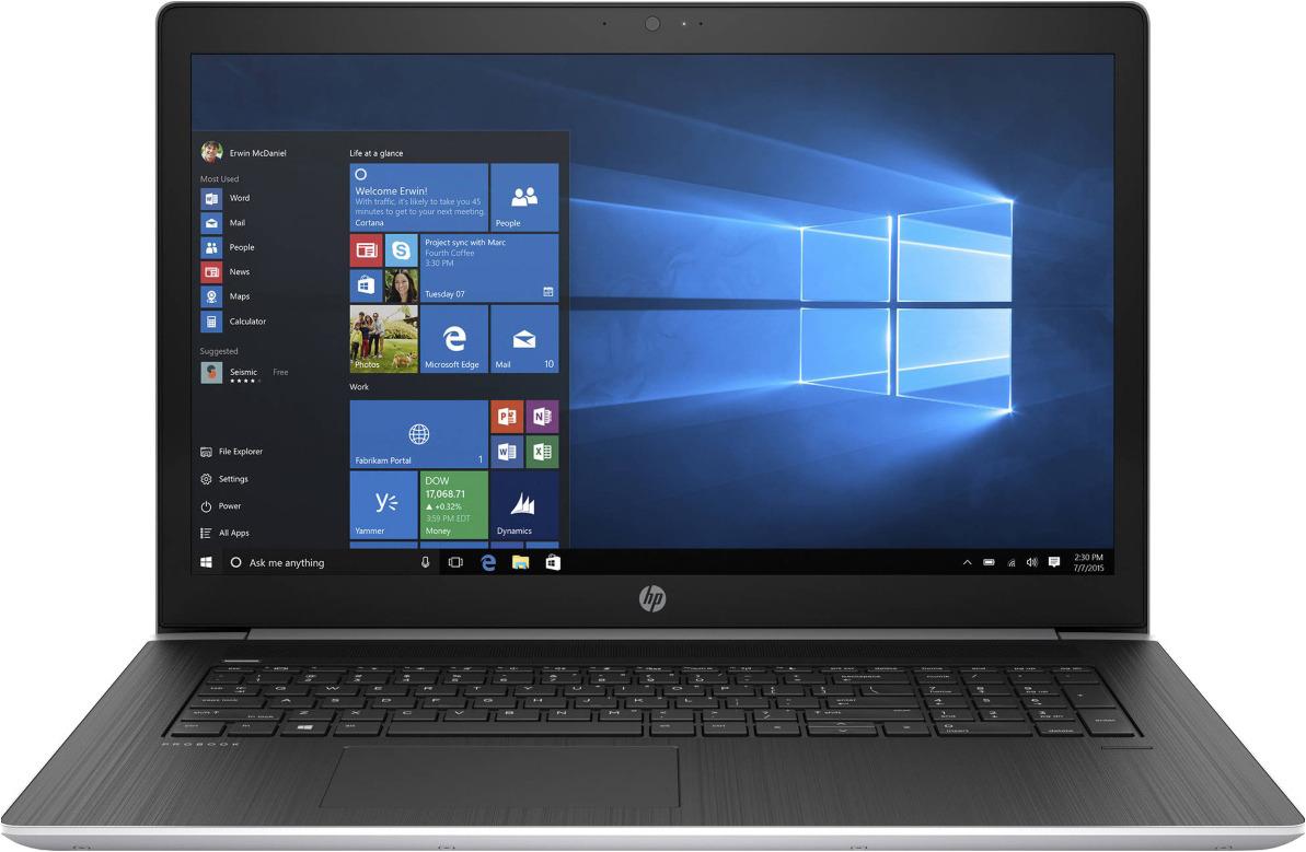 17,3 Ноутбук HP Probook 470 G5 2RR84EA, серебристый ноутбук hp probook 470 g5 2rr84ea