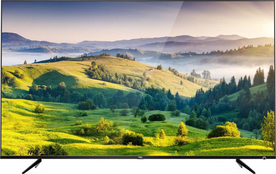 Телевизор TCL L43P6US 43, черный телевизор 4к что это