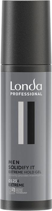 Гель для волос Londa Professional Soldify It для экстремальной фиксации, 100 мл