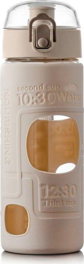 Бутылка Walmer Active, WP3401500, 500 млWP3401500Серия Active от производителя Walmer – это стильные стеклянные бутылки разных расцветок, в которых очень удобно носить с собой напитки. Емкости изготовлены из легкого тонкостенного боросиликатного стекла, не уступающего по прочности обычному, надежно защищены нескользящим пластиковым BFA-Free чехлом и снабжены крепким шнурком для переноски. Корпус бутылок Active имеет благородный глянцевый блеск, не царапается и не мутнеет со временем, а плотно прилегающая крышка с силиконовым ободком герметично закрывает носик-поилку, не допуская проливания. Используя емкости Active вместо пластиковых бутылок, вы вносите свой вклад в защиту окружающей среды. Рекомендуем!