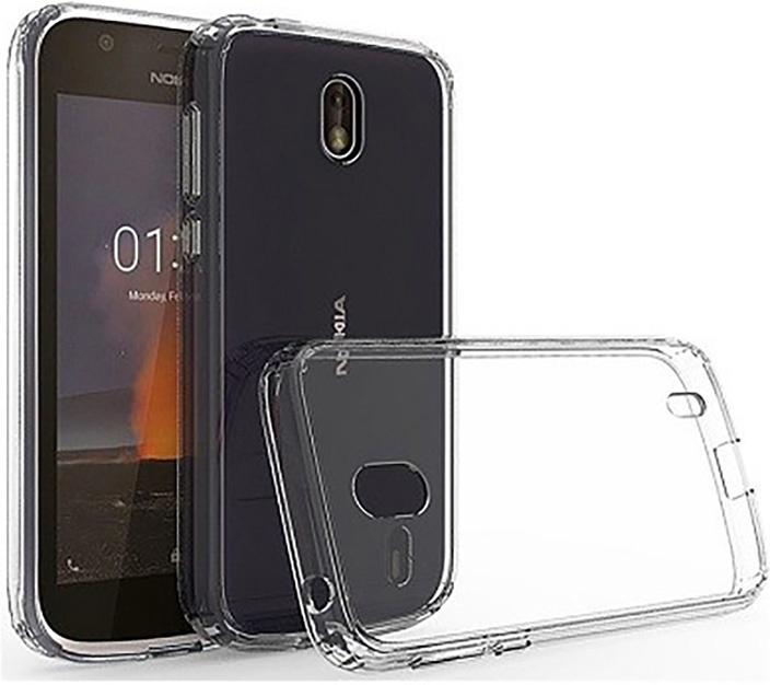 Ультратонкий защитный чехол Gosso Cases для Nokia 1, 180548, прозрачный телефон dect gigaset l410 устройство громкой связи