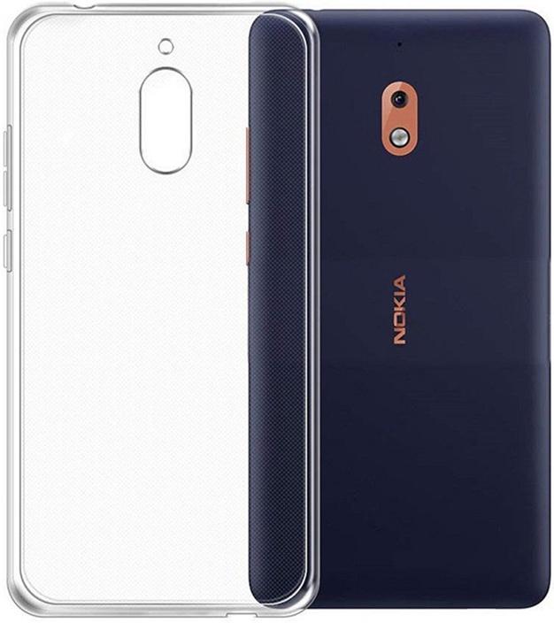 Ультратонкий защитный чехол Gosso Cases для Nokia 2.1 2018, 184507, прозрачный телефон dect gigaset l410 устройство громкой связи