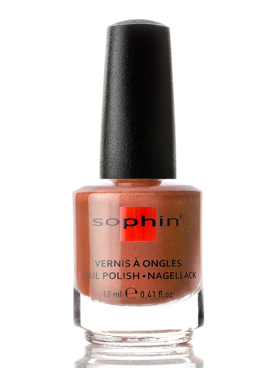 SOPHIN Лак для ногтей, оттенок 0385, ореховый, 12 мл sophin diamond defense