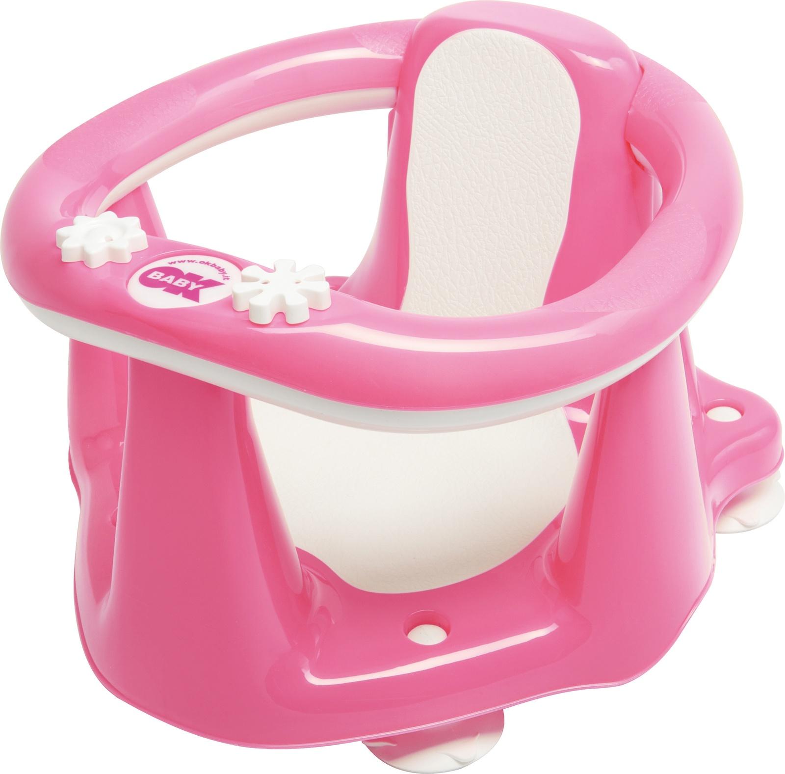 Стульчик для купания ОК Ваву FLIPPER Evolution розовый