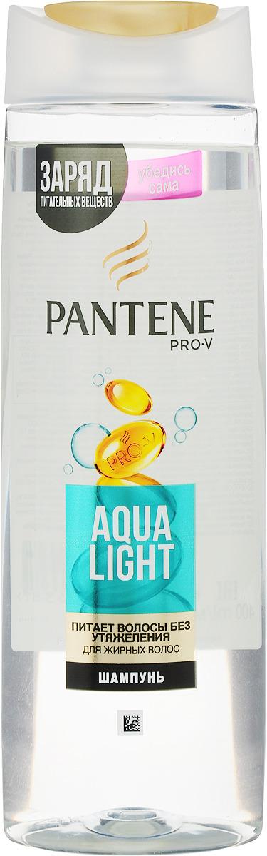 Шампунь Pantene Pro-V Aqua Light, для тонких волос, склонных к жирности, 400 мл цена