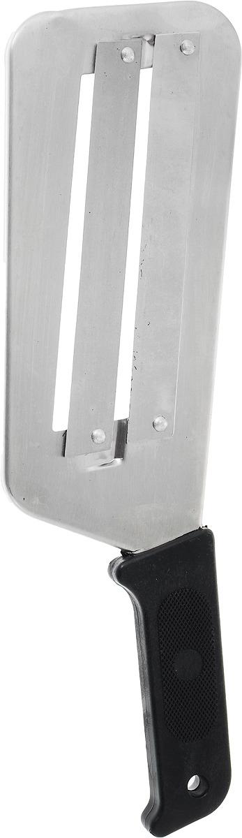 Нож-шинковка Mallony, для капусты, цвет: черный нож шинковка мультидом an57 12