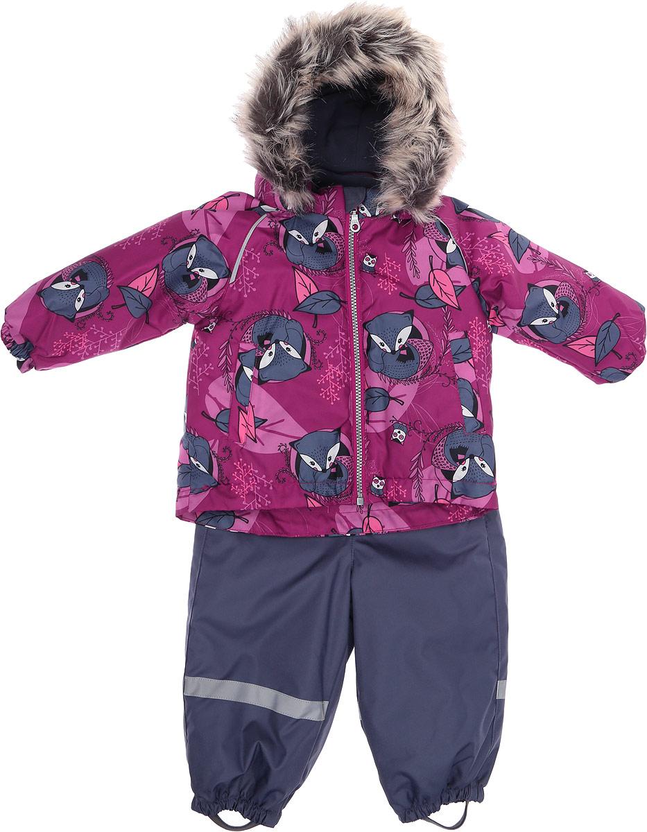 Комплект верхней одежды Lassie комплект одежды для девочки осьминожка дружба цвет молочный розовый т 3122в размер 56