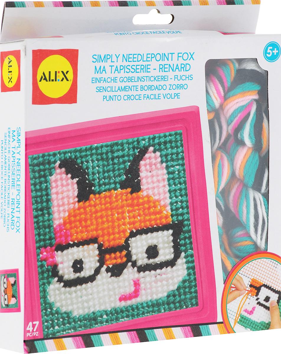 Набор для вышивания Alex Лиса наборы для творчества alex набор для вышивания любовь