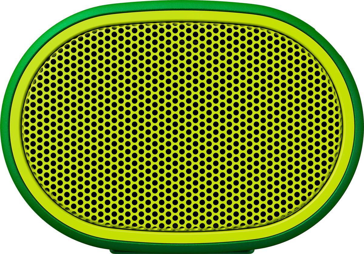 Портативная акустическая система Sony SRS-XB01, Green портативная акустическая система sony srs xb01 w white