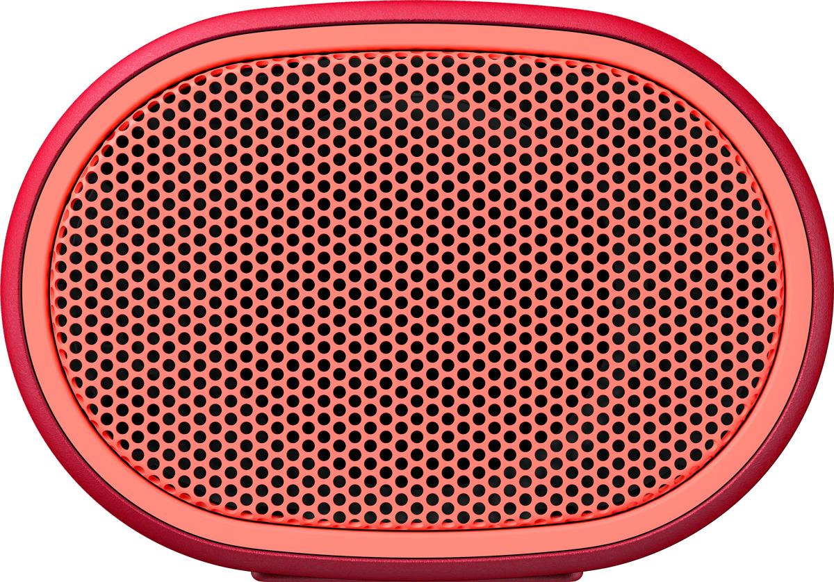Портативная акустическая система Sony SRS-XB01, Red