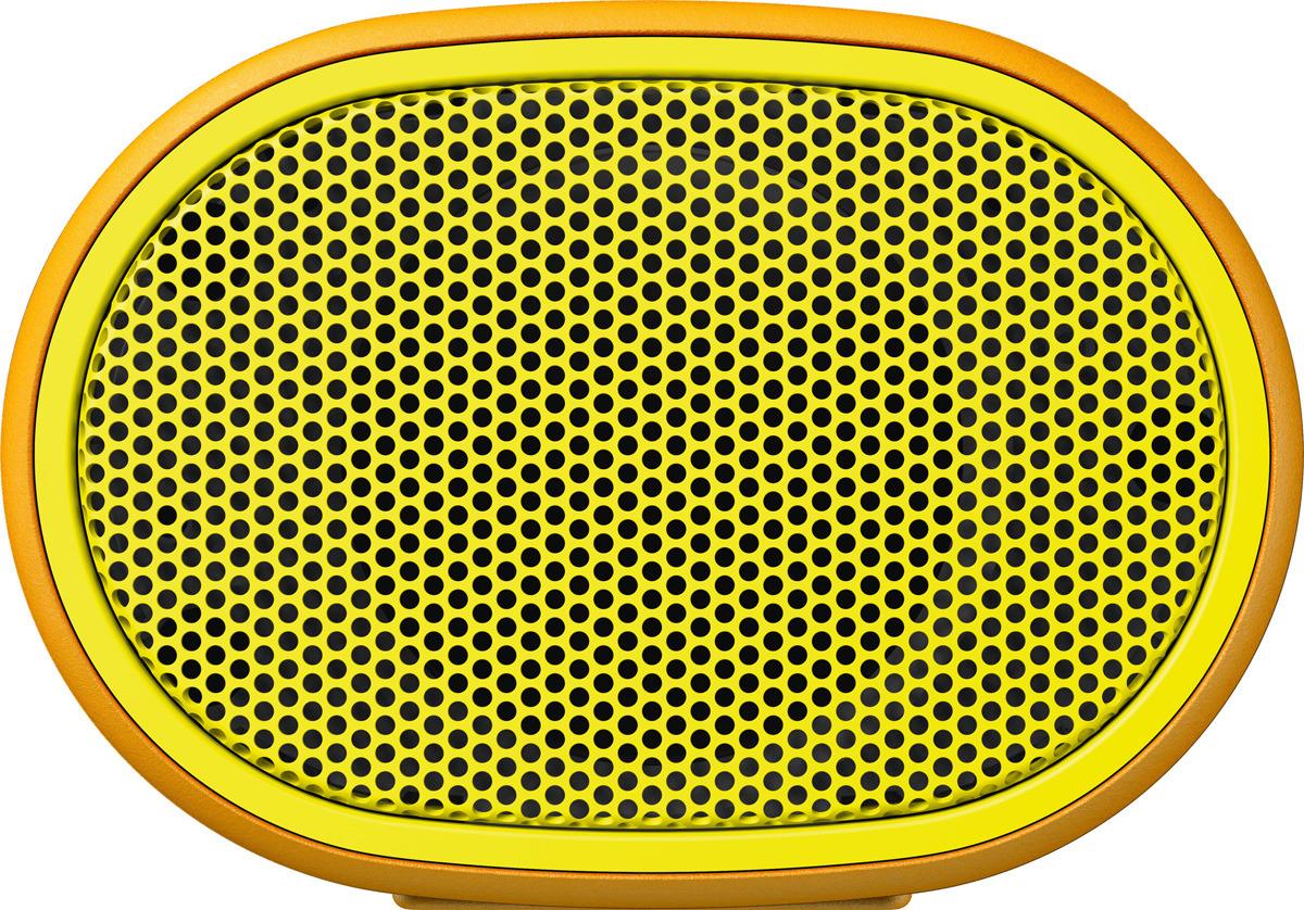 Портативная акустическая система Sony SRS-XB01, Yellow портативная акустическая система sony srs xb01 w white