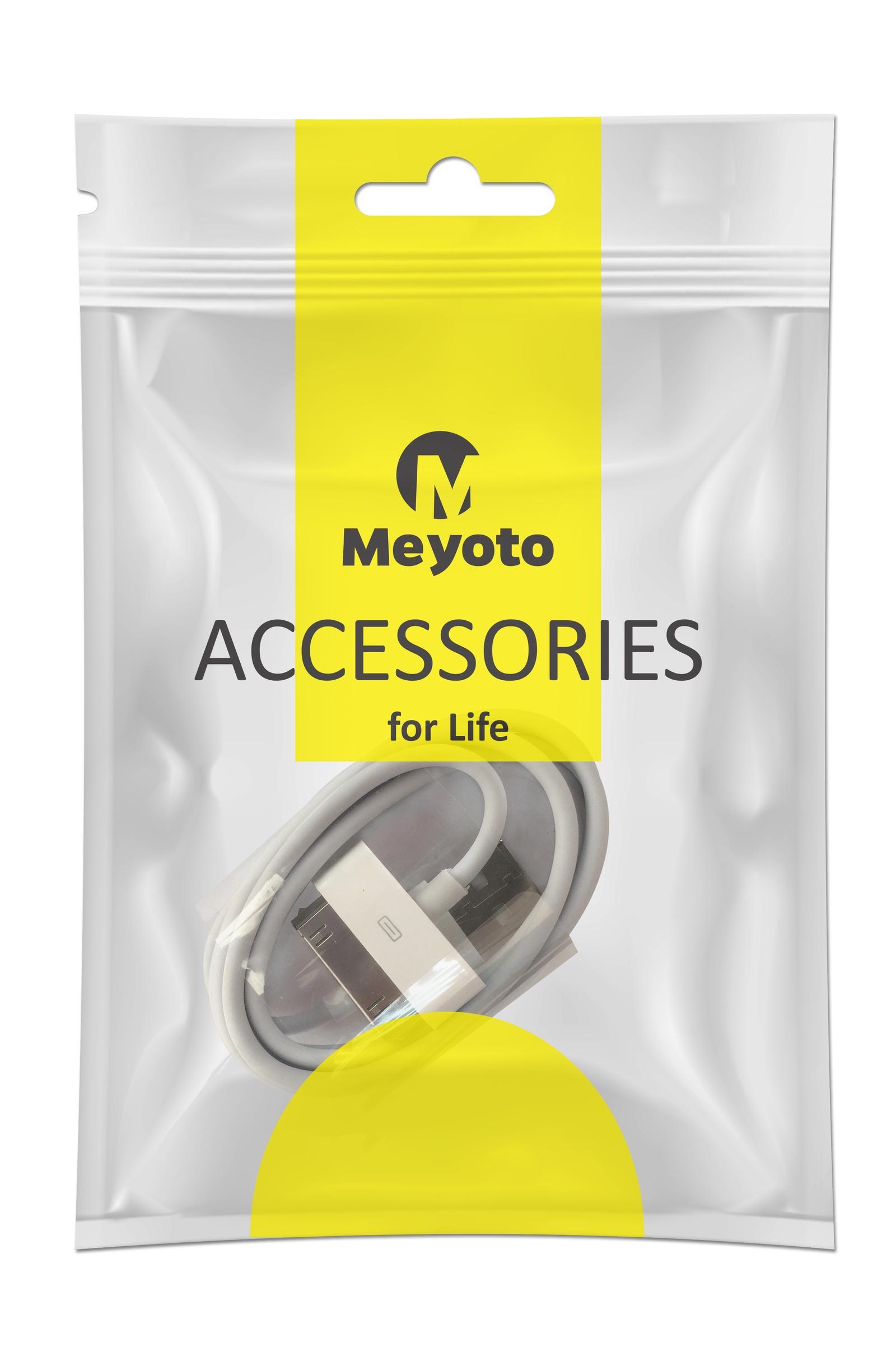 Кабель Meyoto Кабель для зарядки и передачи данных iphone 4, белый кабель китай провод для зарядки g5016