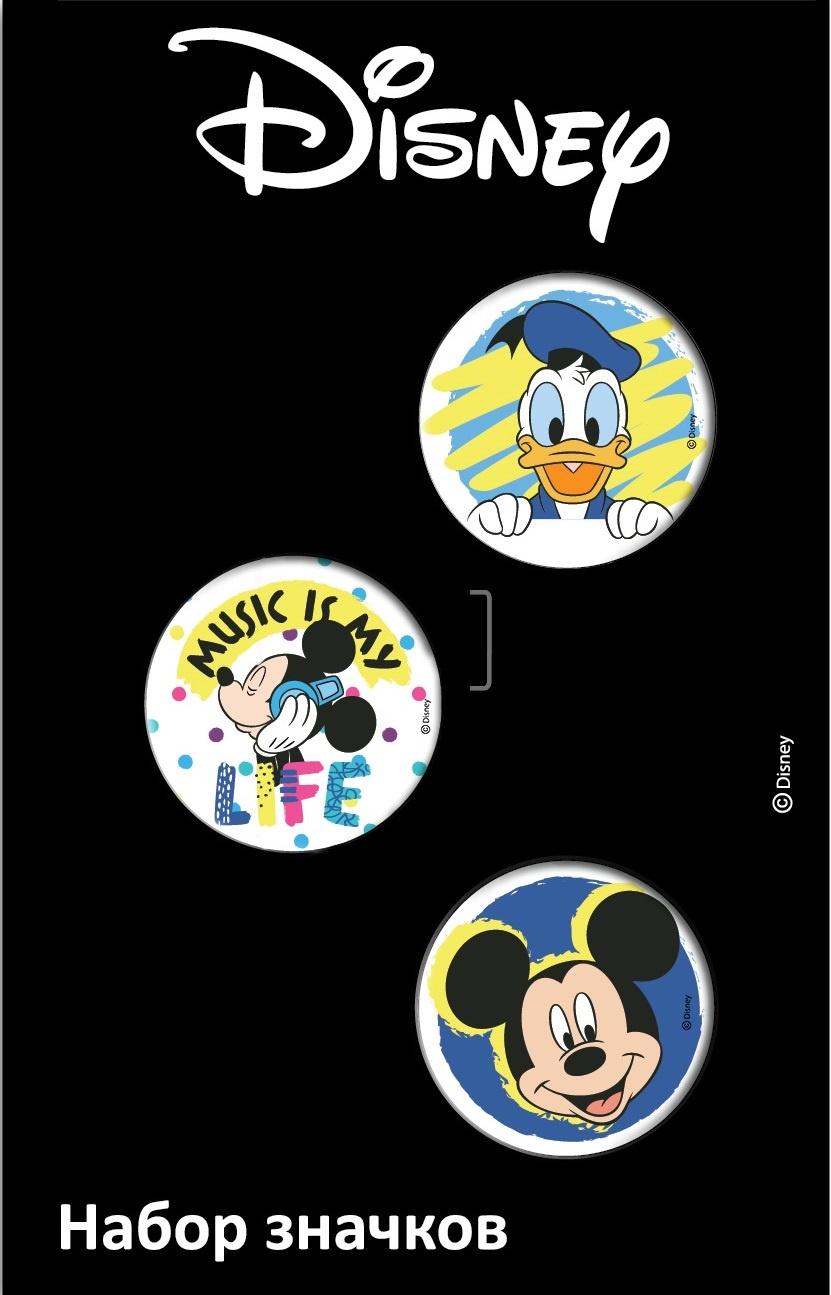 Набор значков Disney Микки 1 дисней disney капитан америка маски мешок мальчики schoolbag дисней мальчиков 1 4 классов ba5037a сапфир
