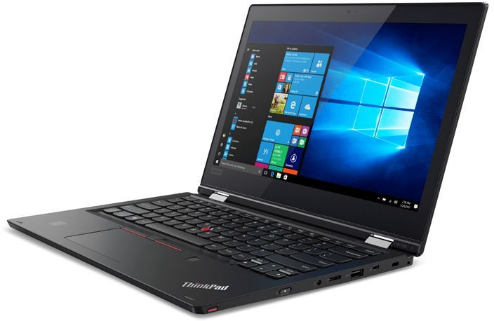 Ноутбук Lenovo ThinkPad Yoga L380 20M7001JRT, черный ноутбук lenovo thinkpad l380 clam 20m5001yrt