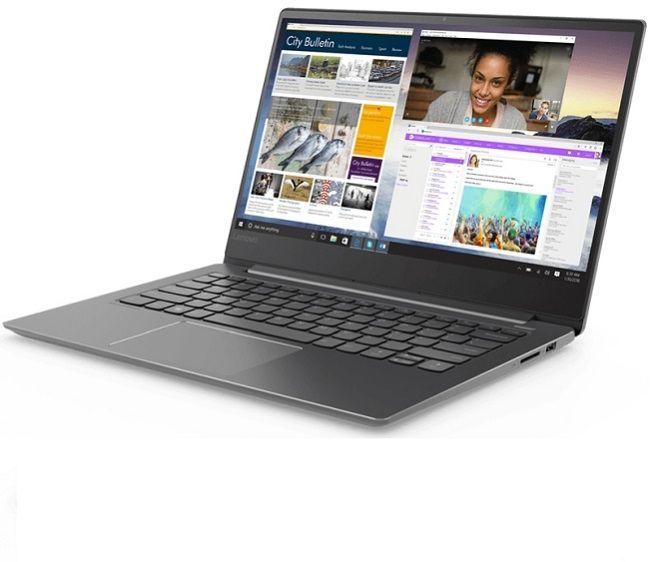 Ноутбук Lenovo IdeaPad 530S-14IKB, 81EU00BFRU, 14, черный ноутбук lenovo ideapad 100 15ibd 80qq003rrk