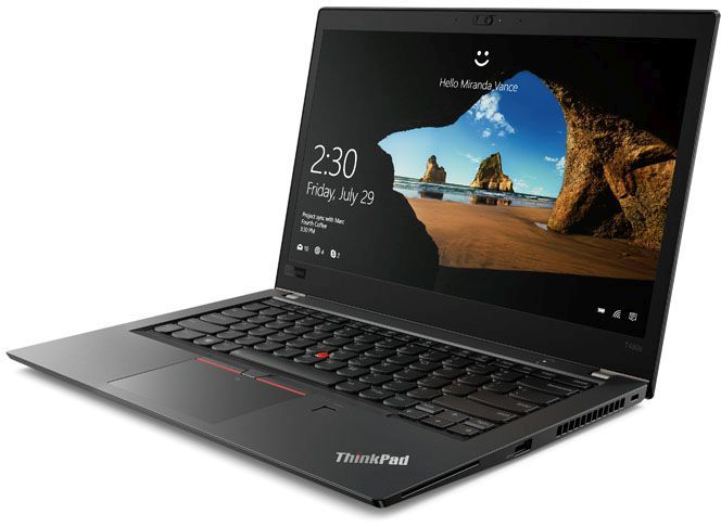14 Ноутбук Lenovo ThinkPad T480s 20L7001MRT, черный ноутбук lenovo thinkpad l580 20lw0010rt