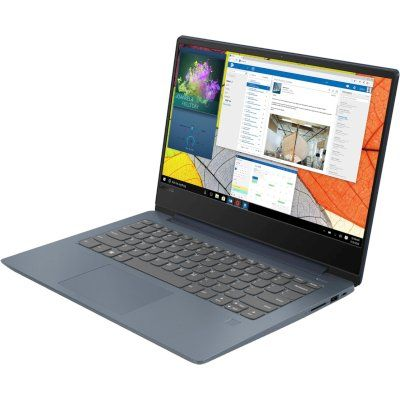 14 Ноутбук Lenovo IdeaPad 330S-14IKB 81F4004XRU, синий ноутбук lenovo ideapad 330s 14ikb 81f401dbru intel® core™ i5 8250u kaby lake r 6 мб smartcache 1 60 ггц 4 гб 256 ssd 14 1920 х 1080 full hd ips intel uhd graphics 620 sma выделяется