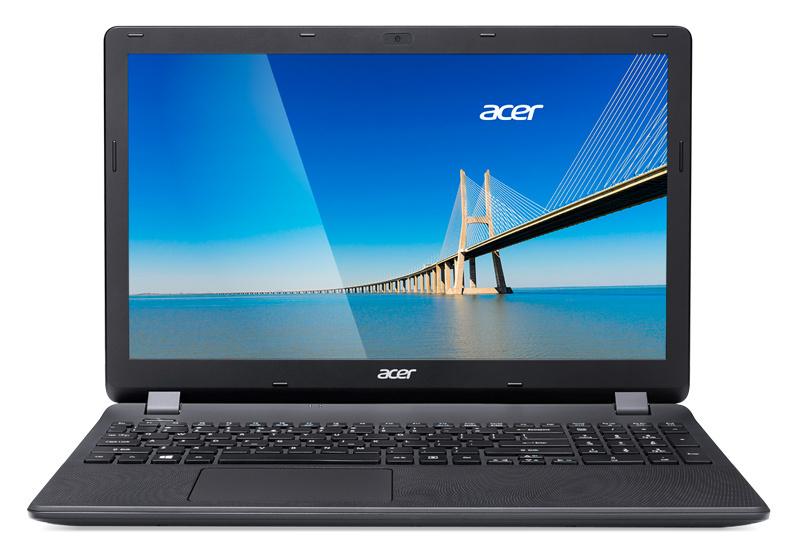 15.6 Ноутбук Acer Extensa EX2519 NX.EFAER.104, черный ноутбук hp 15 ra061ur 3qu47ea black 15 6 hd pen n3710 4gb 500gb dvdrw w10