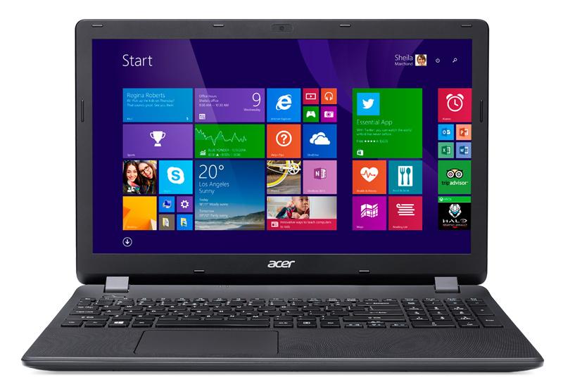 15.6 Ноутбук Acer Extensa EX2519 NX.EFAER.098, черный установить xp на ноутбук acer