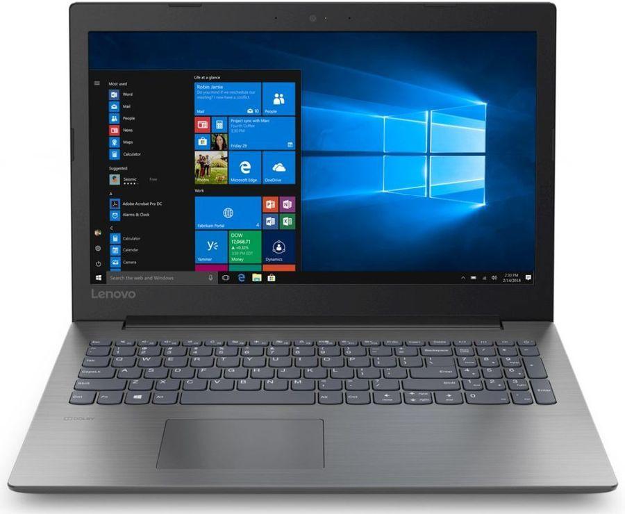 15.6 Ноутбук Lenovo IdeaPad 330-15IGM 81D1003MRU, черный ноутбук asus x540ma gq120t 90nb0ir1 m03650 black 15 6 hd pen n5000 4gb 500gb w10
