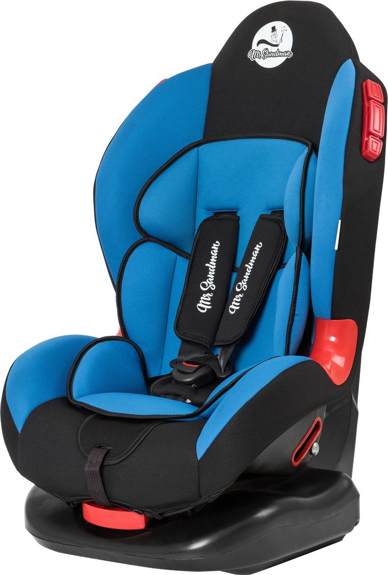 Автокресло Mr Sandman Future, KRES0996, от 9 от 0 до 25 кг, черный, синий автокресло mr sandman safe road черный синий