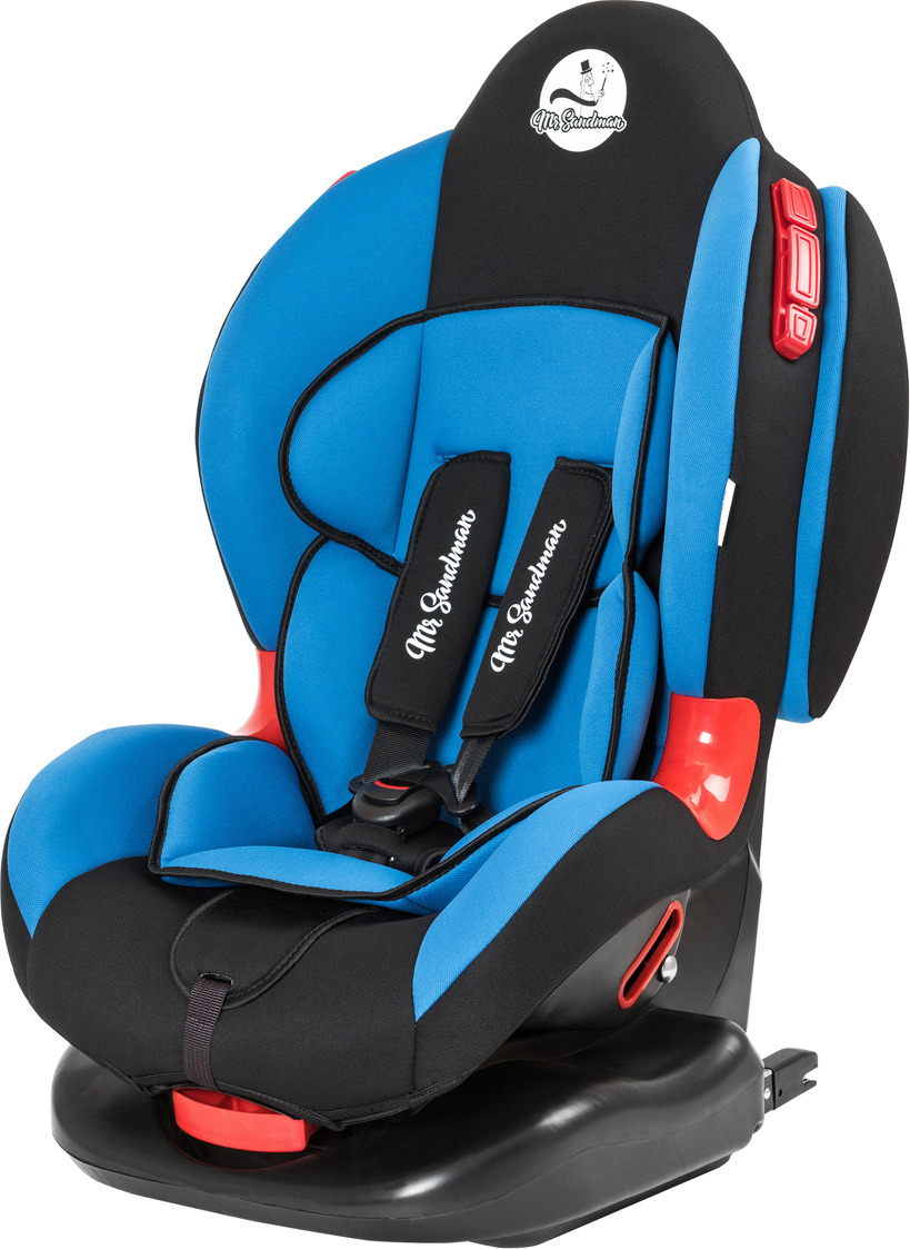 Автокресло Mr Sandman Future Isofix, KRES1001, от 9 от 0 до 25 кг, черный, синий автокресло mr sandman safe road черный синий