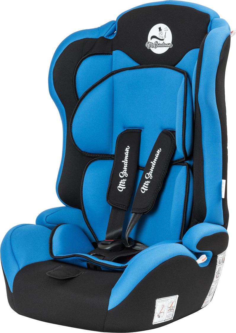 Автокресло Mr Sandman Safe Road, KRES1006, от 9 до 36 кг, черный, синий автокресло mr sandman safe road черный синий