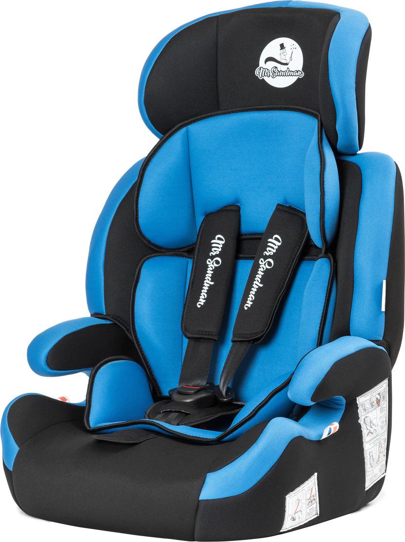 Автокресло Mr Sandman Good Luck, KRES1011, от 9 до 36 кг, черный, синий