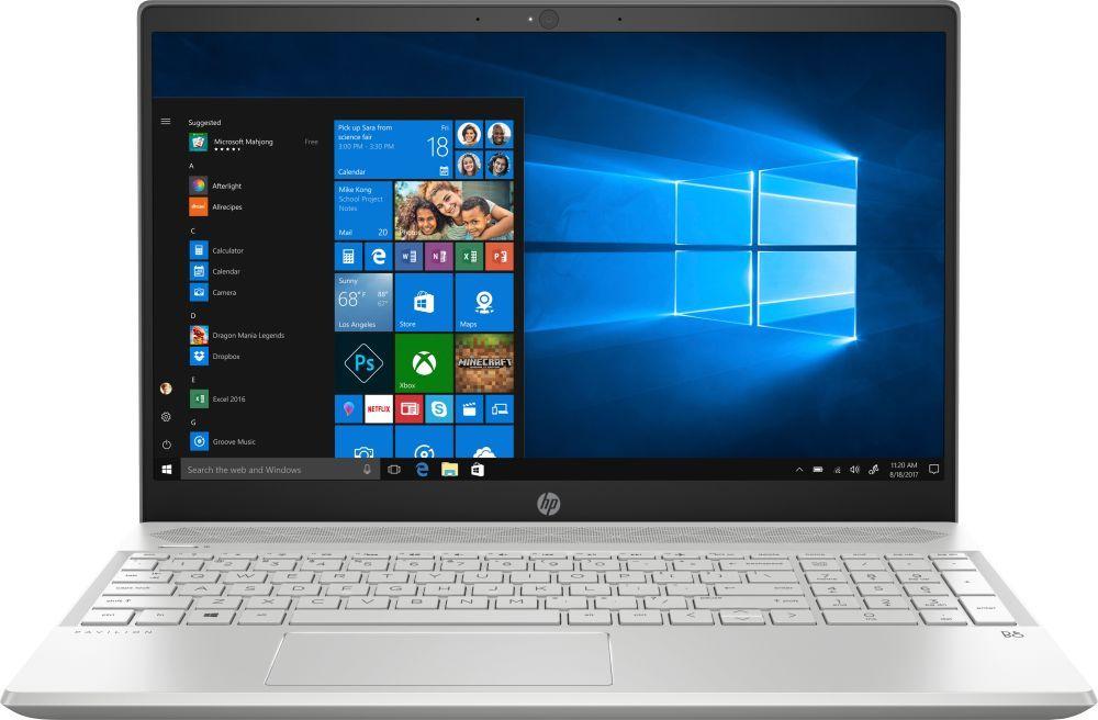 15.6 Ноутбук HP Pavilion 15-cs0003ur 4GP07EA, серебристый ноутбук hp 15 bw591ur 2pw80ea