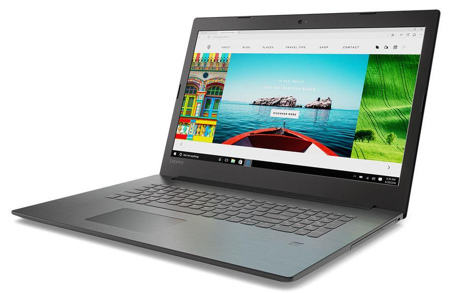 17.3 Ноутбук Lenovo IdeaPad 330-17AST 81D7003NRU, черный ноутбук lenovo ideapad 330 17ast 81d70034ru
