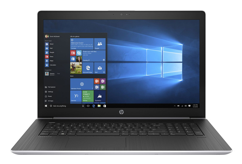 17.3 Ноутбук HP ProBook 470 G5 2XZ78ES, серебристый new us laptop keyboard for hp probook 450 g5 455 g5 470 g5 english black keyboard
