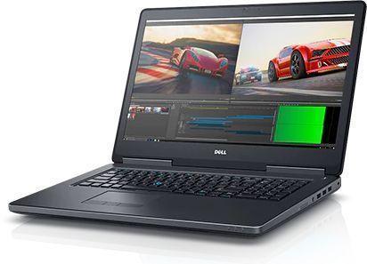 17.3 Ноутбук Dell Precision 7720 7720-8062, черный ноутбук dell precision 7520 7520 8017 i7 7820hq 2 9 16gb 2tb 256gb ssd 15 6 fhd ips quadro m2200 4gb win10 pro black