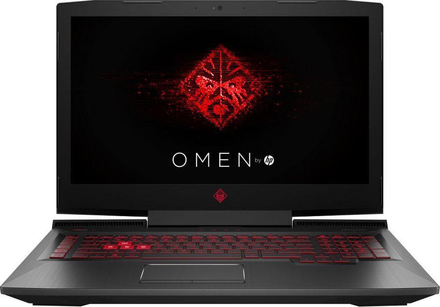 17.3 Игровой ноутбук HP Omen 17-an102ur 4HF11EA, черный 17 3 игровой ноутбук hp omen 17 an119ur 4ju07ea черный