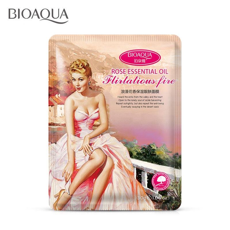 Маска косметическая BIOAQUA Bioaqua маска для лица с эфирными маслами романтическое настроение, 30 гр. маска косметическая bioaqua bioaqua маска для лица с экстрактом ромашки 30 гр