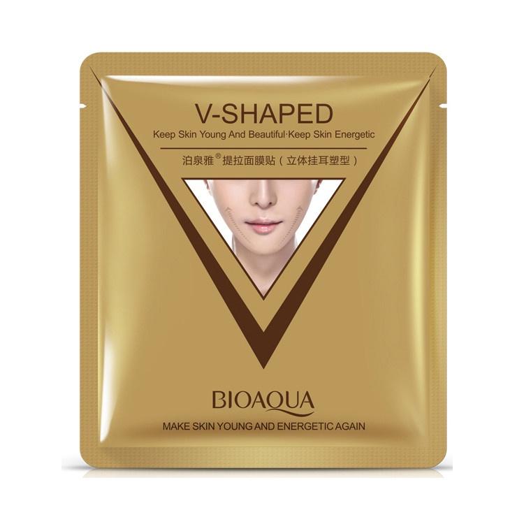 Маска косметическая BIOAQUA маска для лица для коррекции овала лица, 40 гр. маска косметическая биолит для лица с пантами марала с дозатором 50 г