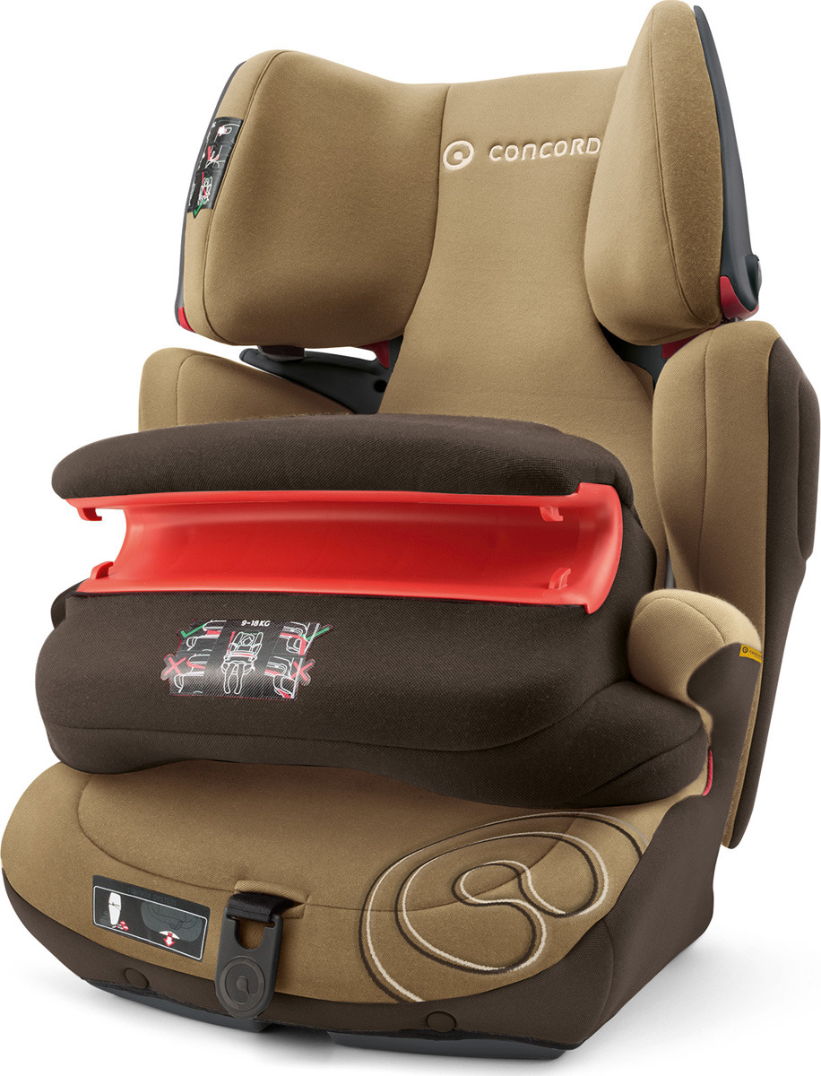 Автокресло Concord Transformer Pro, 9-36 кг, TFM0974PR concord автокресло ultimax 3 0 18 кг concord chocolate brown