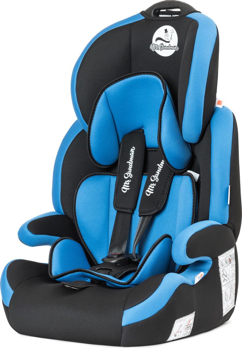 Автокресло Mr Sandman Voyager, KRES1021, от 9 до 36 кг, черный, синий