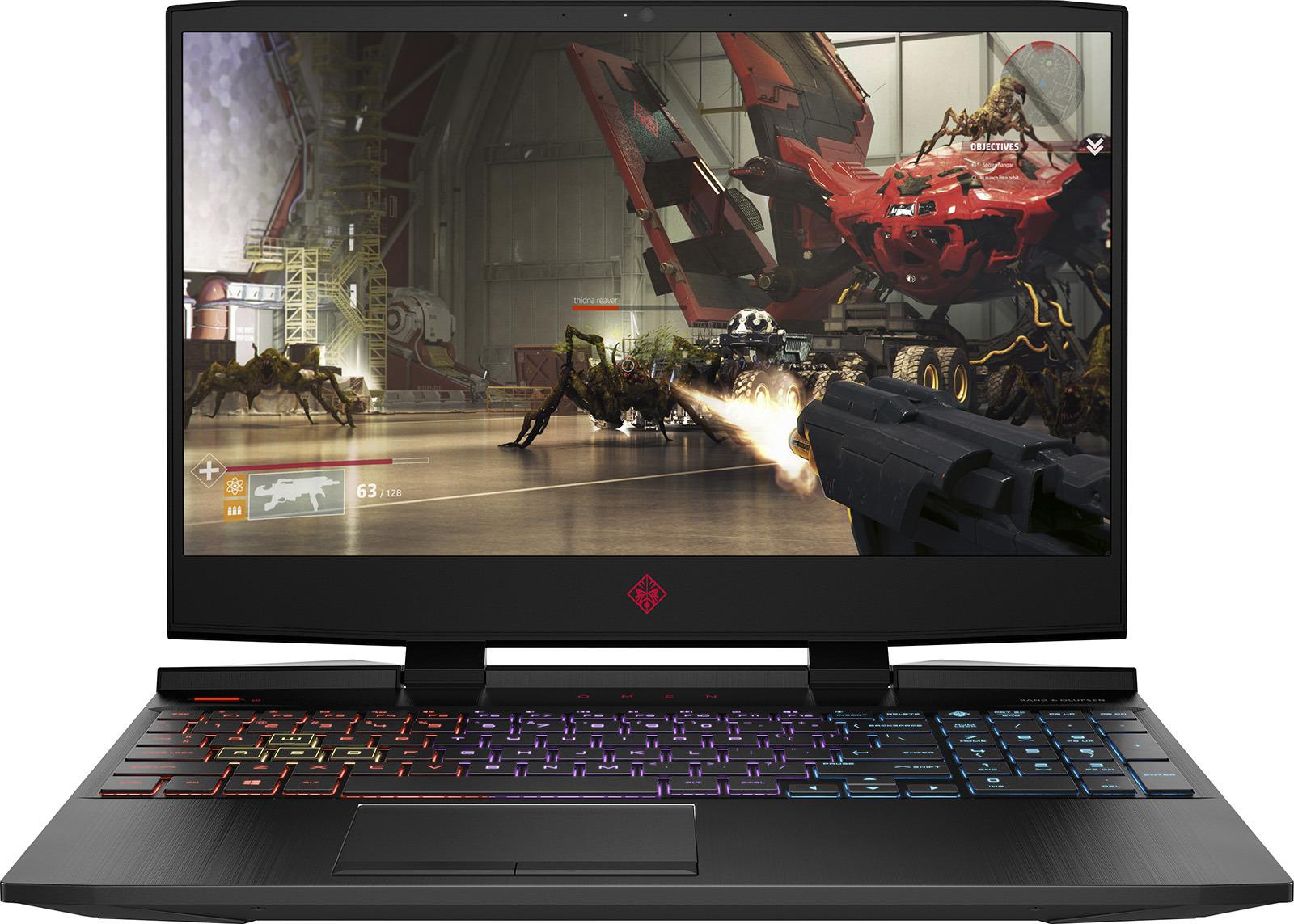 Игровой ноутбук HP Omen 15-dc0016ur, 4HC72EA, 15.6