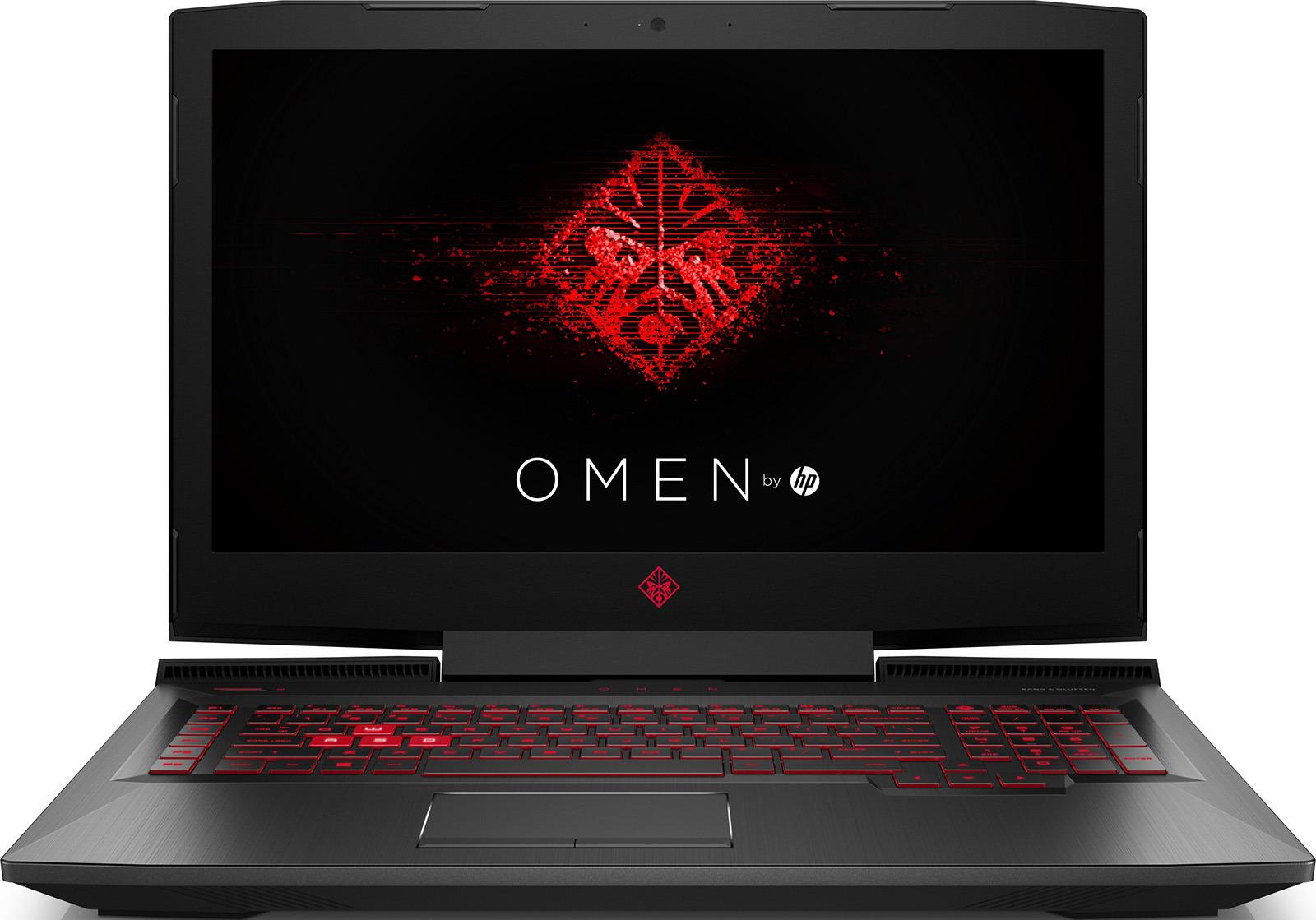 17.3 Игровой ноутбук HP Omen 17-an119ur 4JU07EA, черный 17 3 игровой ноутбук hp omen 17 an119ur 4ju07ea черный