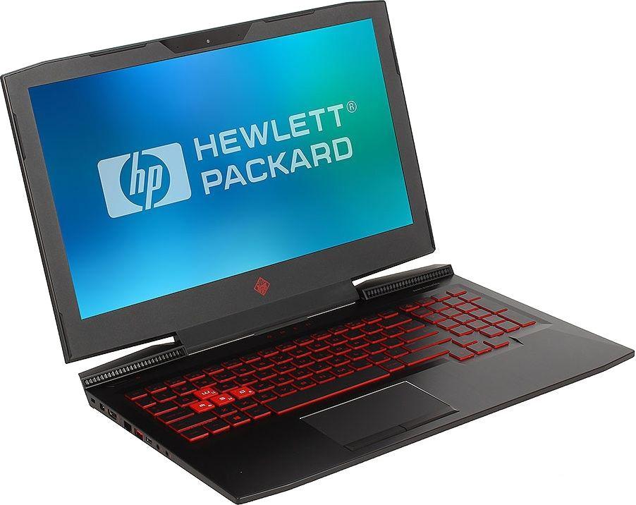 15.6 Игровой ноутбук HP Omen 15-ce006ur 1ZB00EA, черный игровой ноутбук hp omen 15 dc0001ur 4gz73ea 15 6 черный